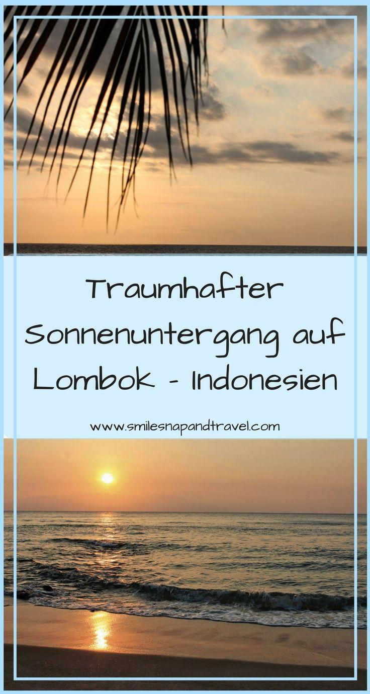 Atemberaubender Sonnenuntergang auf Lombok. Ein Urlaub in dem Nichtstun erlaubt ist.  #nichtstun #entspannen #sonnenuntergang