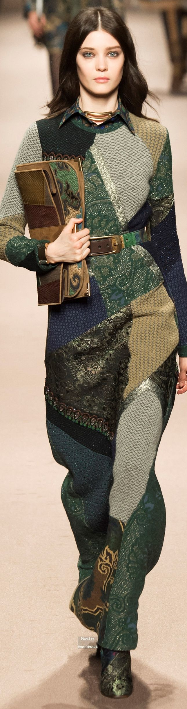 Etro Collections Fall Winter 2015-16 collection