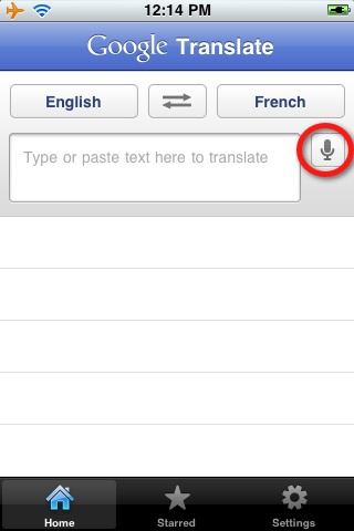 Introducing the Google Translate app for iPhone - It hears, it types, it speaks!