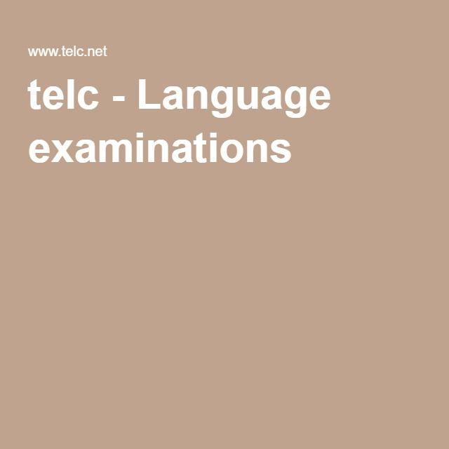 telc - Language examinations