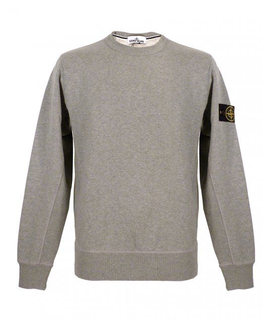 Stone Island  Crew neck sweatshirt Ribbed cuffs and waistband Removable Stone Island badge 100% cotton £145