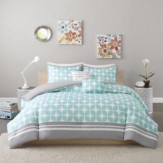 Intelligent Design London 5-piece Duvet Cover Set | Overstock.com Shopping - The Best Deals on Teen Duvet Covers