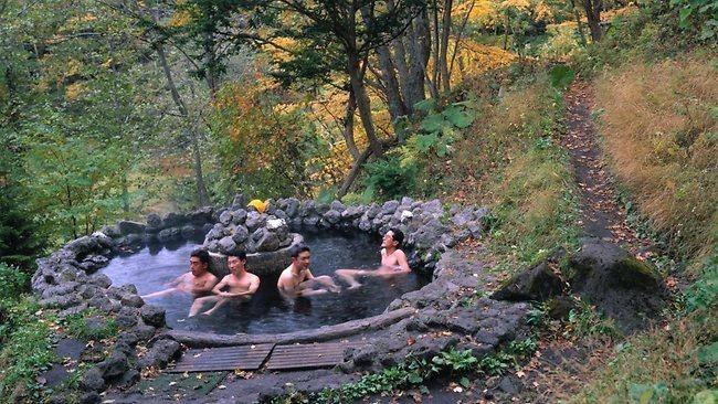 Public bathing rules in Japan