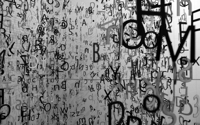 """typo installation """"Gwar chmar"""" by Aleksandra Toborowicz #typo #installation #letter #litera #typografia #liternictwo #toborowicz #instalacja #art #newmediao"""