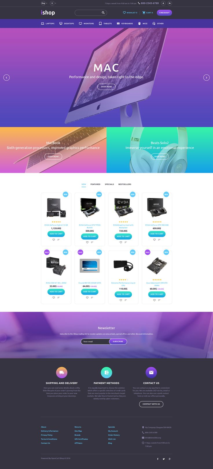198 best opencart themes images on pinterest computer store responsive opencart template httpstemplatemonster com pronofoot35fo Choice Image