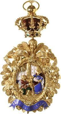 Order of Saint Isabel (Portugal) - Badge (c. 1830/50)