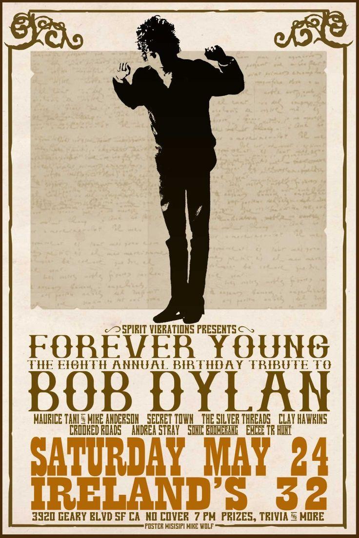 Bob Dylan Concert Posters                                                       …