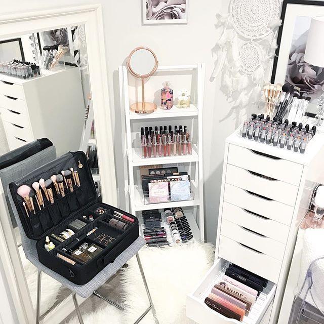 Diy Zen Bedroom Ideas Bedroom Sets At Ikea Gray And Black Bedroom Ideas Elegant Master Bedroom Ideas: 891 Best Makeup Organization/Vanity Images On Pinterest