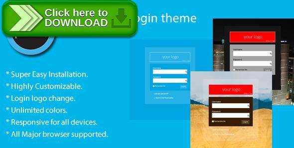 [ThemeForest]Free nulled download Wordpress login theme from http://zippyfile.download/f.php?id=58509 Tags: ecommerce, WordPress Login, Wordpress login logo, Wordpress login screen, Wordpress login style, WP login theme