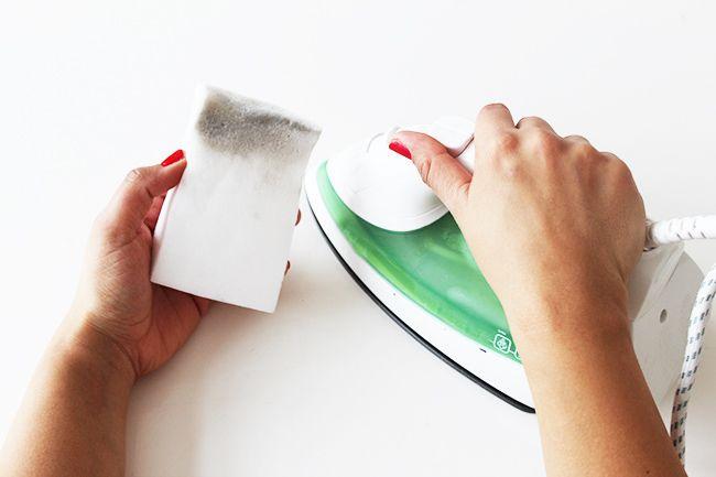 10 näh tipps bügeleisen sauber machen 2