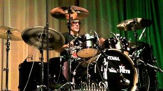 Kenny Aronoff Drum Solo live @ The London Drum Show 2011