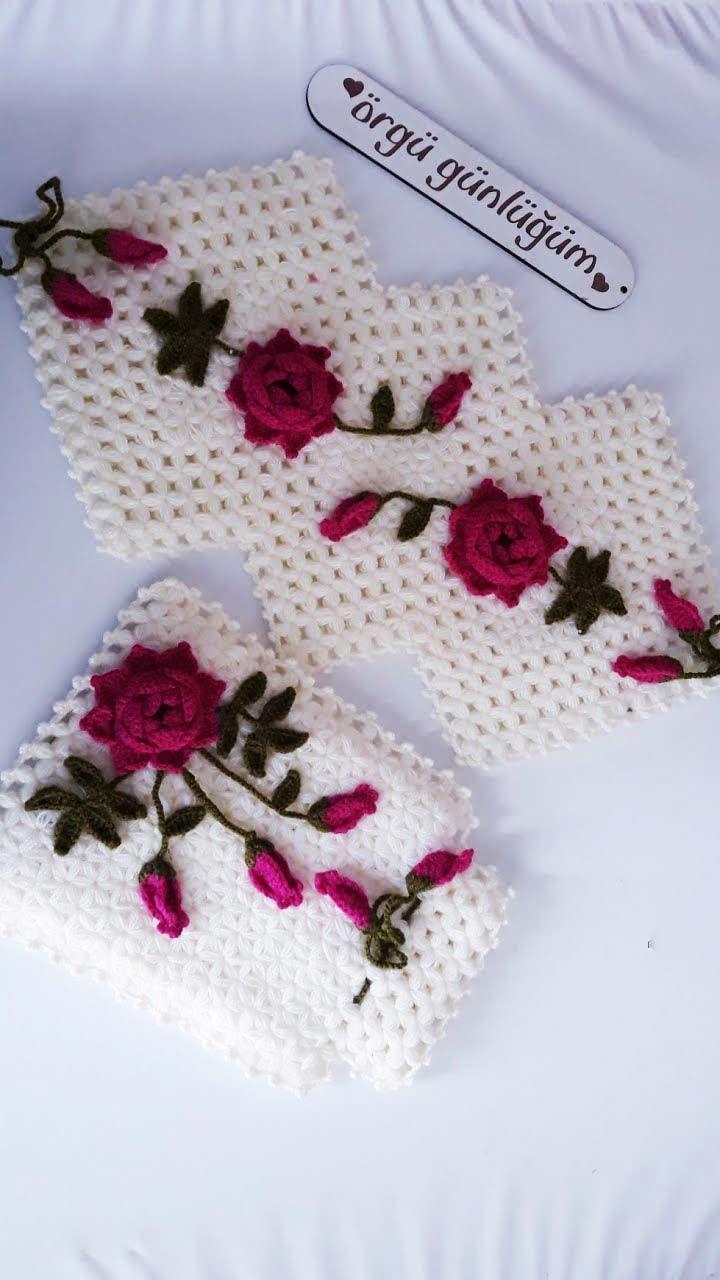 Gul Dali Uzun Lif Modeli Yapimi Videolu Aciklamali Orguvakti Baby Knitting Patterns Tig Isleri Tig Desenleri