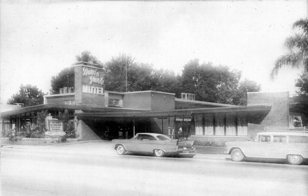 davis park motel in the 1950s via state archives of florida floridamemory old florida orlando orlando florida davis park motel in the 1950s via