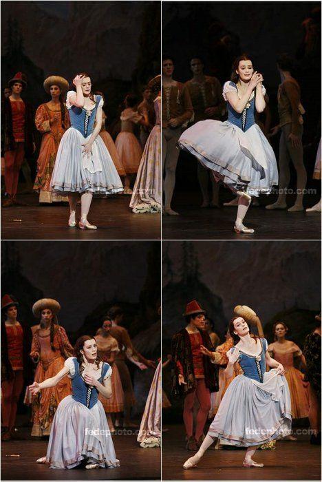Giselle, scène de la folie - Aurélie Dupont- POB paris opera ballet