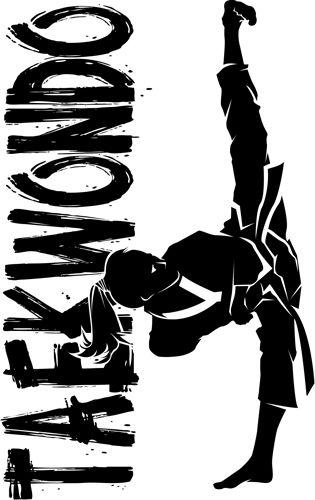 I Love Taekwondo Girl High Kick. Ready at Sunfrog.com