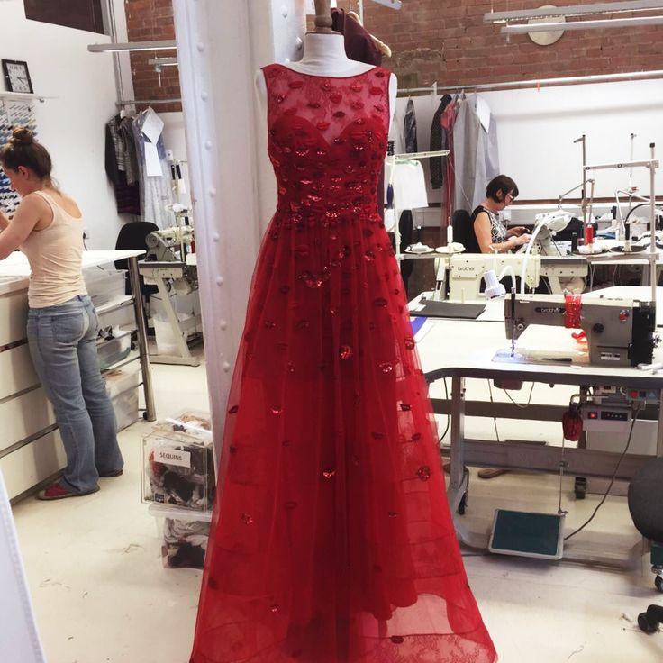 Bridesmaid dress inspiration from Zuhair Murad couture http://www.londonfittingrooms.com/le-boudoir/history-of-bridesmaids-dress-alterations #RedGown #Bridesmaid #WeddingFashion