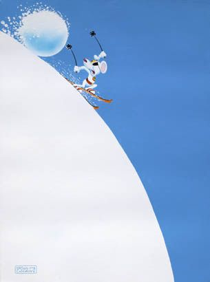 Snowball by Brian Cosgrove  Medium: Giclée on Paper  Edition Size: 350 - Signed   Image Size: 61cm x 46cm EDITION SOLD OUT