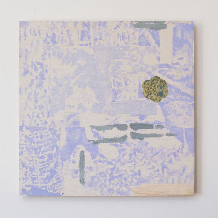 FOR SALE: $400 Tuymans' Periphery, acrylic, oil an diamond dust on plywood, 50 x 50cm, 2016. www.dianaellinger.com