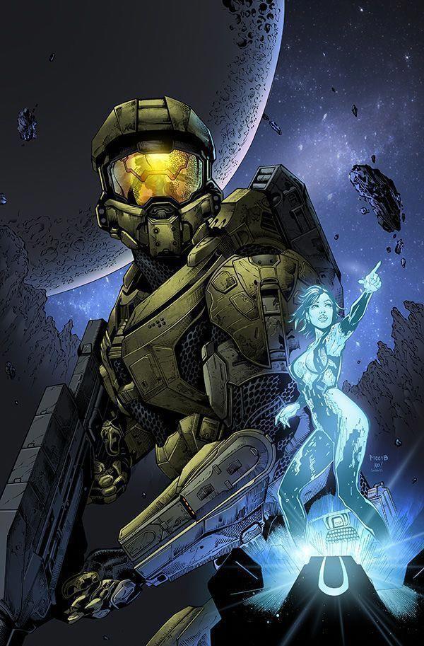 Master Chief  Cortana - Halo - Daniel Picciotto #videogametester