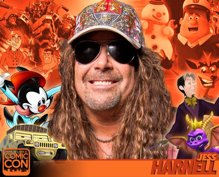 *PIN to WIN* Meet voice actor Jess Harnell at #SLCC16! Known for roles in Animaniacs, Disney, Transformers and more! #utah