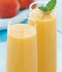 Peach and joghurt #smoothie