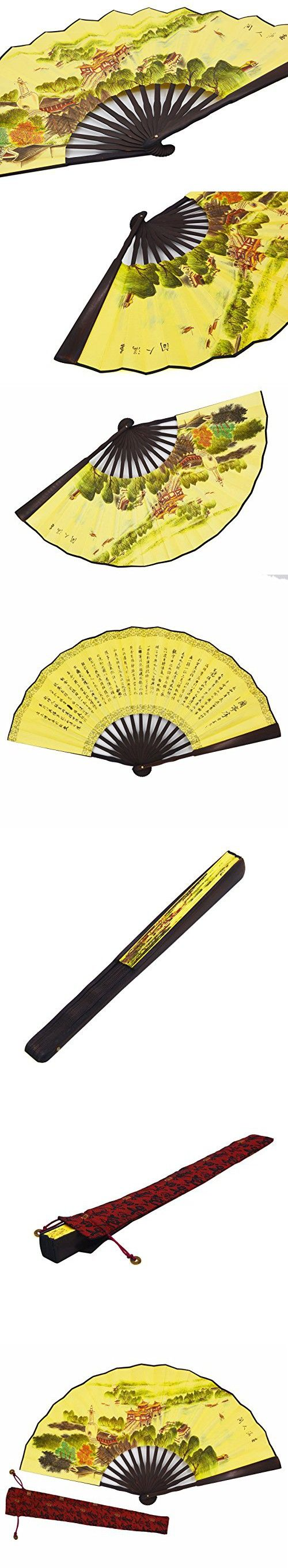 765 best Decorative Folding Fans images on Pinterest | Hand fans ...