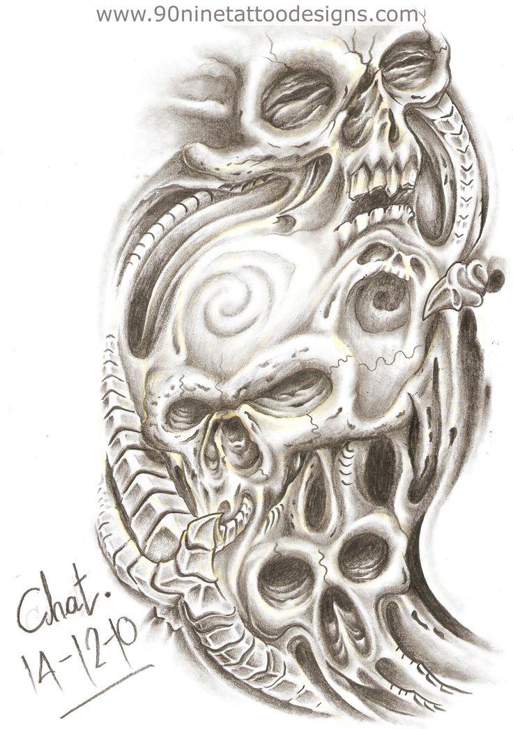 Tattoo Designs: (put this in 3D) http://www.90ninetattoodesigns.com/Tattoo-Sketches/