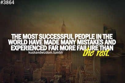 Wise words... What's the most you've learnt from a mistake?