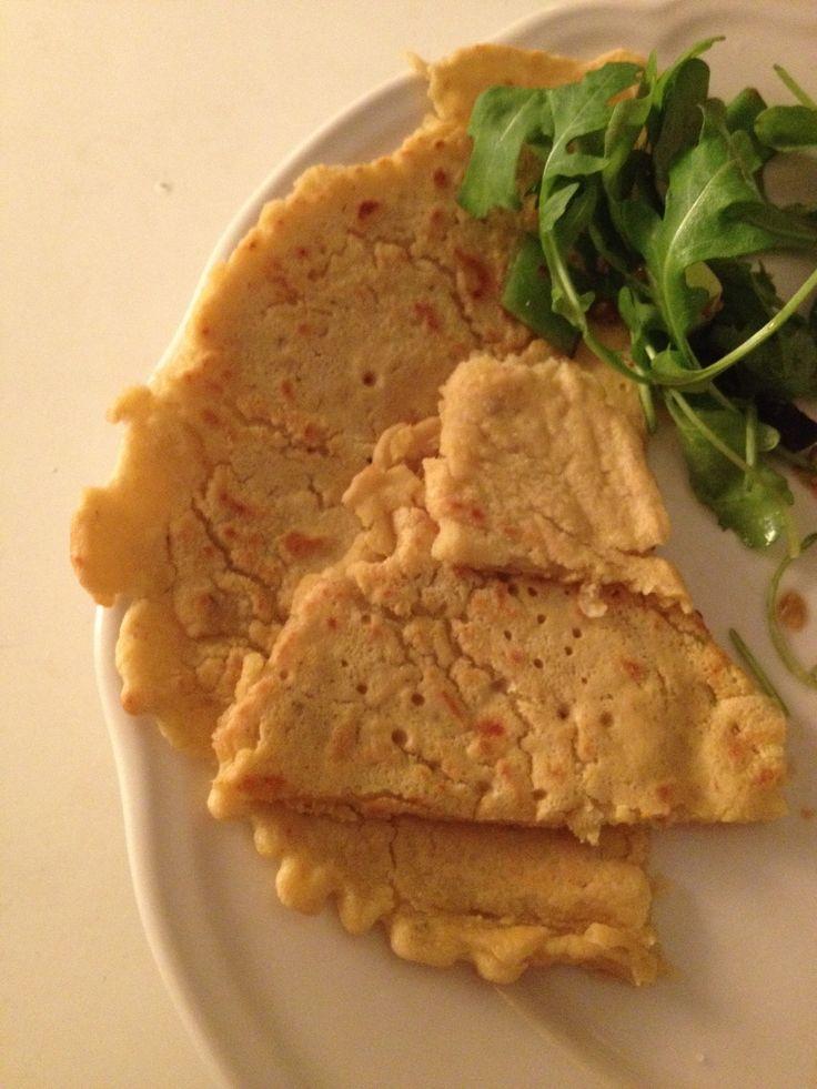 Zelf gemaakte kikkererwten pannenkoekjes!!!!! Mmmm