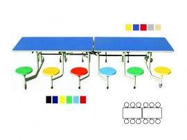 Vouwtafel 12 persoons   Tafels en stoelen   Cats   Leverancier Educatief Materiaal  (in verschillende hoogtes en kleuren).