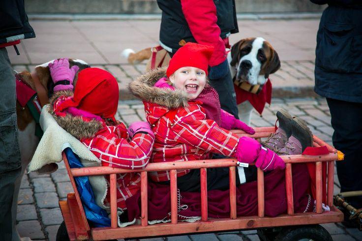 Helsinki, Finland. Opening of Aleksanterinkatu Christmas Street 2013. Photos by KiviMeri team.
