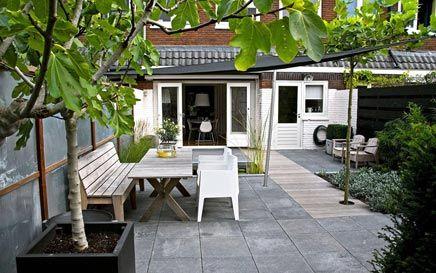 Onderhoudsvriendelijke sfeervolle tuin | Inrichting-huis.com