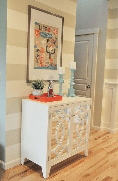 Best 25 striped accent walls ideas on pinterest striped for Manhattan beige paint color