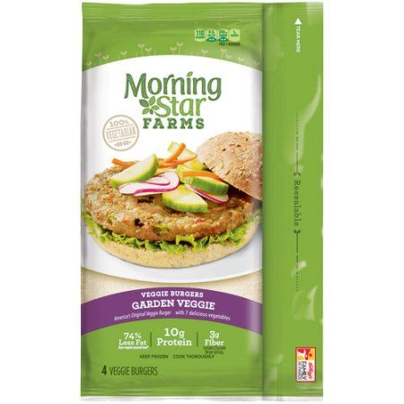 Morning Star Farms Veggie Burgers Garden Veggie - 4 CT