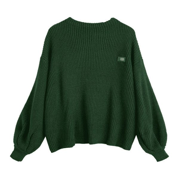 Oversized Chevron Patches Pullover Sweater Green (170 GTQ) ❤ liked on Polyvore featuring tops, sweaters, chevron sweater, pullover top, pullover sweater, oversized pullover and green top