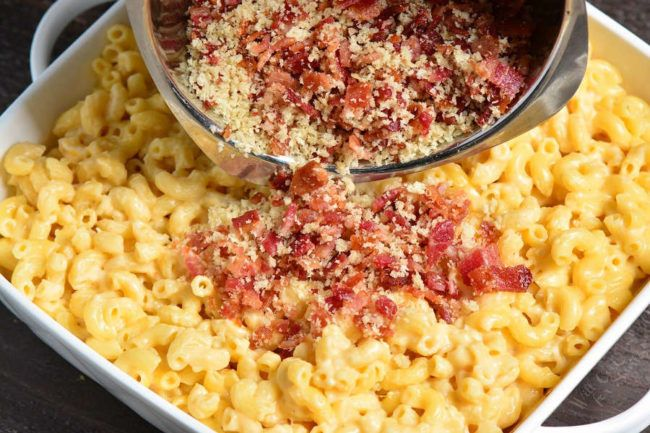 Baked Mac And Cheese With Bacon Face Care No Wrinkles Bake