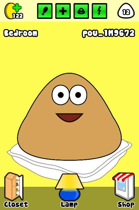 I love you pou :) he never fronds :( ;(