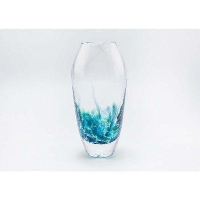 Jerpoint Large Tulip Vase Seascape
