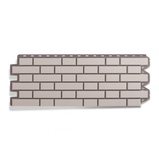 Фасадная панель Кирпич клинкерный белый