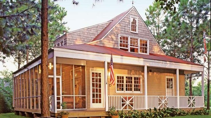 571 best southern living house plans images on pinterest for Retirement cottage house plans