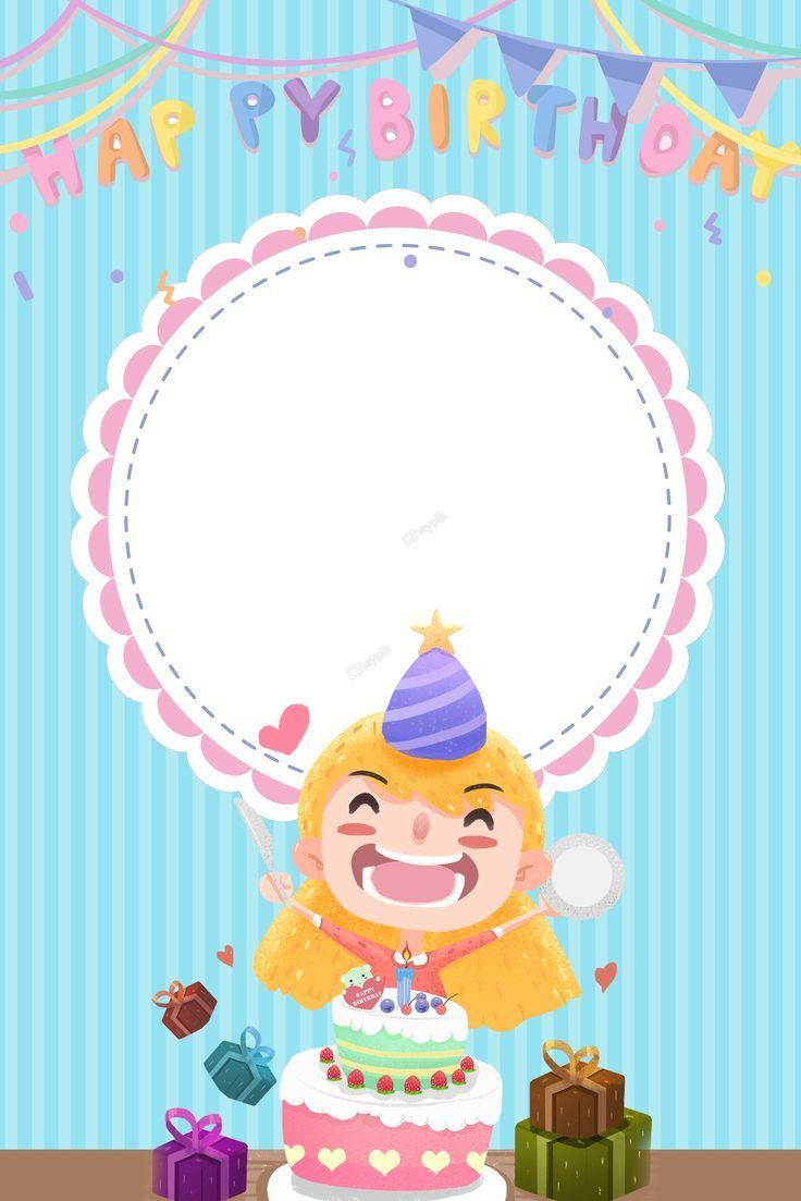 عيد ميلاد سعيد حفلة عيد ميلاد خلفية Happy Birthday Wallpaper First Birthday Party Favor Unicorn Themed Birthday Party