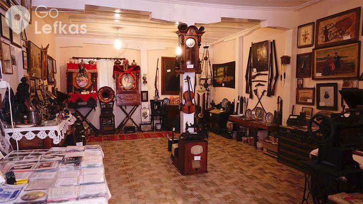Άποψη του Μουσείου Φωνογράφου