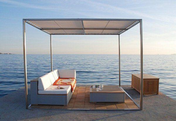 die besten 25 pergola metall ideen auf pinterest sichtschutz metall glas berdachung und. Black Bedroom Furniture Sets. Home Design Ideas