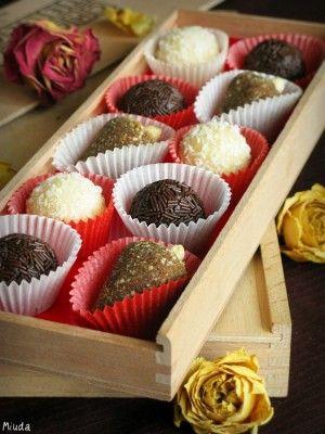 Бразильские конфеты Brigadeiro, cajuzinho, beijinho