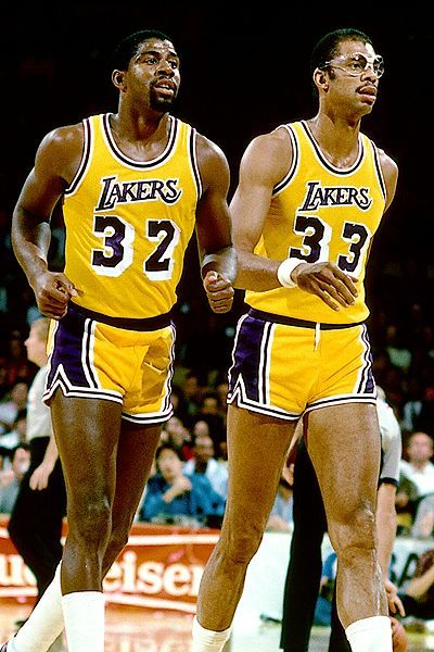 Magic Johnson, Kareem Abdul Jabbar                                                                                                                                                     More