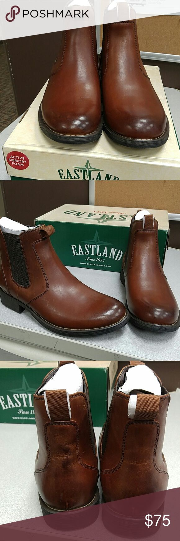 Eastland Men's Daily Double leather Ankle Boots Eastland Men's Daily Double leather Ankle Boots. New in box Eastland Shoes Boots