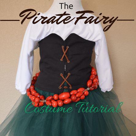 zarina the pirate fairy costume tutorial the shirt