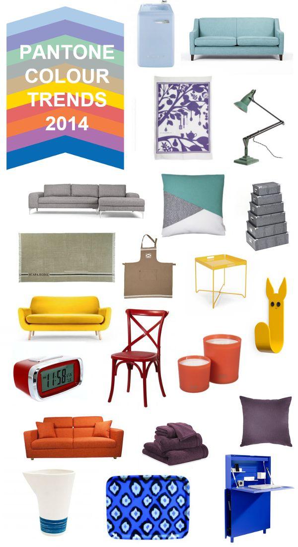 TOUCH this image: Pantone Colour Trends 2014 by Press Loft FR #pantone2014 #radiantorchid