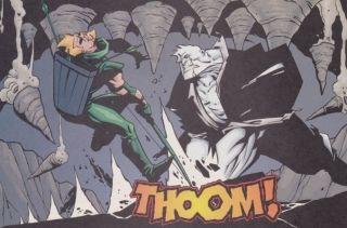 Green Arrow Vs. Solomon Grundy