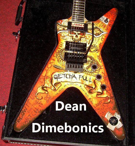 gotta dime dean ml dimebonics dimebag darrell electric guitar for sale in watertown ny. Black Bedroom Furniture Sets. Home Design Ideas